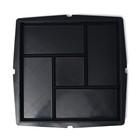 Форма для тротуарной плитки «Плита. Калифорния», 30 х 30 х 3 см, Ф12006