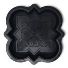 Форма для тротуарной плитки «Клевер краковский малый», 21,5 × 21,5 × 4,5 см, шагрень