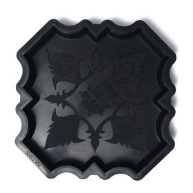 Форма для тротуарной плитки «Клевер краковский большой», 29 × 29 × 4 см, гладкий, 1 шт