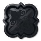 Форма для тротуарной плитки «Клевер краковский малый», 21,5 × 21,5 × 4,5 см, гладкий