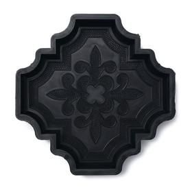 Форма для тротуарной плитки «Клевер краковский большой», 29,8 × 29,8 × 4.5 см, 1 шт