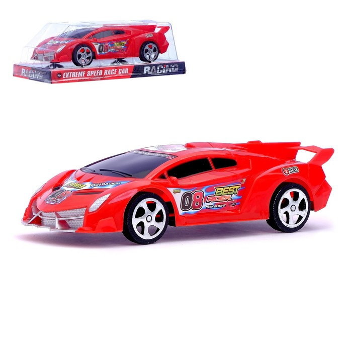 Машина инерционная «Суперкар», цвета МИКС