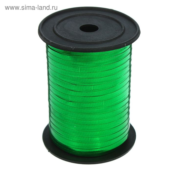 Лента металл (0,5 см * 250 ярд) Зеленый