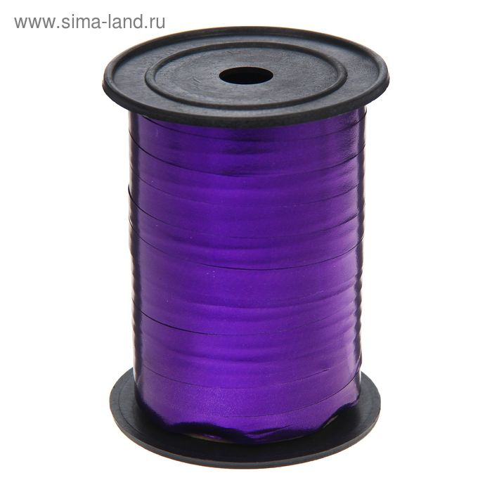 Лента металл (1 см * 100 ярд) Фиолетовый