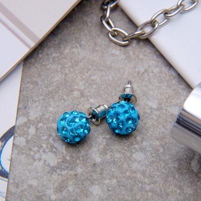 "Pusey ""Ball"" Shambala, color blue, d=0.8 cm"