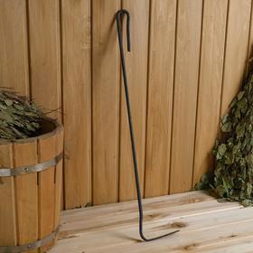 Кочерга металлическая, длина 60 см