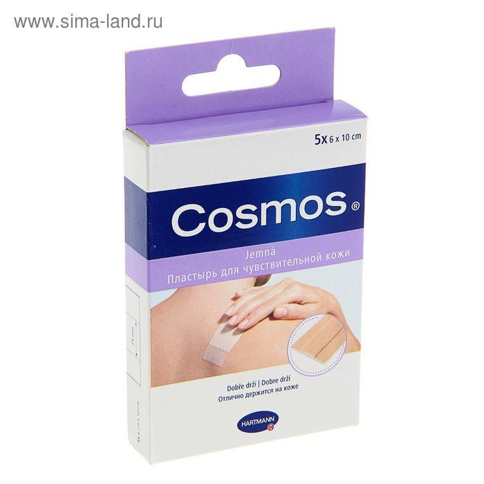 Пластырь Cosmos Sensitive 6 х10 для чувствительной кожи, 5 шт