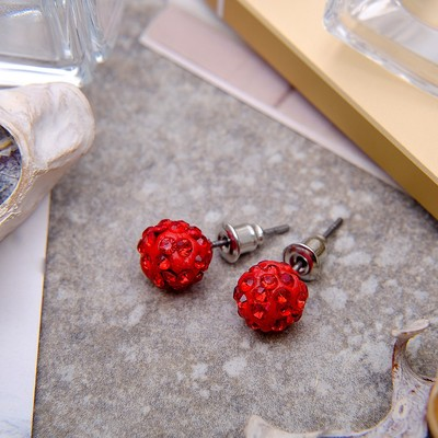 "Pusey ""Ball"" Shambala, color red, d=0.8 cm"