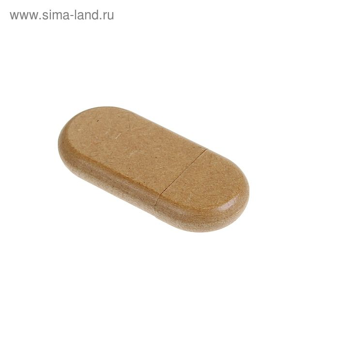 Флешка USB 8Gb, прессованная бумага, под УФ-печать/лазерную гравировку/тампопечать