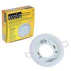 Светильник встраиваемый Ecola DGX5315, GX53, 18 x 100 мм, белый