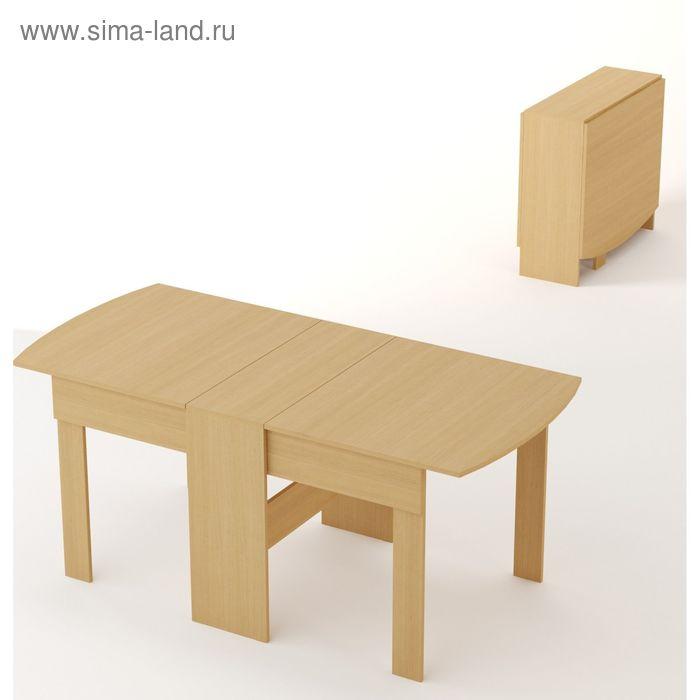 Стол-книжка 1650х800х755 Белёный дуб