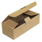 Коробка крафт из рифлёного картона, 16,5 х 7 х 5 см
