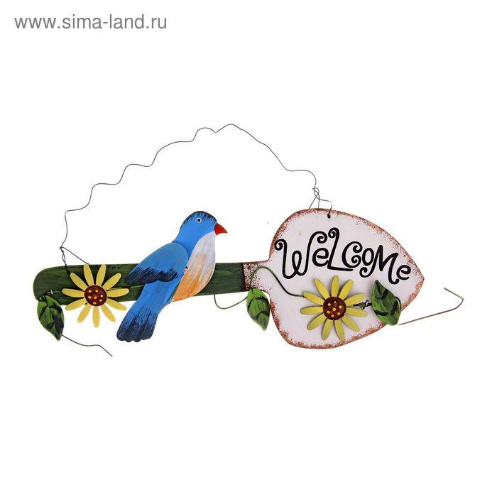 """Табличка декоративная """"Птичка"""""""