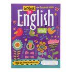 """Тетрадь для записи английских слов в начальной школе, 32 листа """"Птички"""""""