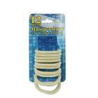 Набор пластиковых колец для штор в ванную, 12 шт, цвет бежевый