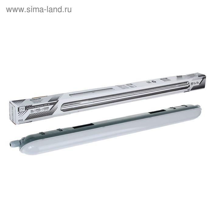 Светильник светодиодный ASD ССП-159, 36 Вт, 160-260 В, 4500 К, IP65, 1240 мм, герметичный