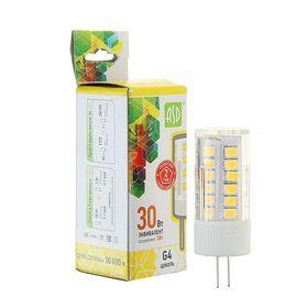 Лампа светодиодная ASD, G4, 3 Вт, 12 В, 3000 К, 270 Лм
