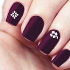 """Трафареты для ногтей """"Цветочки, узор"""", 10шт"""
