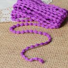 Шнур для плетения декоративный, d=5мм, 5±1м, цвет №124 фиолетовый