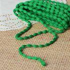 Шнур для плетения декоративный, d=5мм, 5±1м, цвет №115 зелёный
