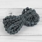 Шнур для плетения декоративный, d = 5 мм, 5 ± 1 м, цвет тёмно-серый №126