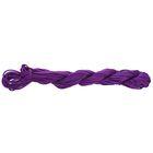 Нить для плетения, d=2мм, 12±1м, цвет №124 фиолетовый