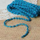 Шнур для плетения декоративный, d=5мм, 5±1м, цвет № 101 морская волна