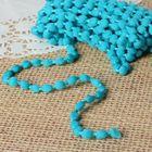 Шнур для плетения декоративный, d=5мм, 5±1м, цвет №106 бирюзовый