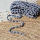 Шнур для плетения декоративный, d=5мм, 5±1м, цвет №118 серый