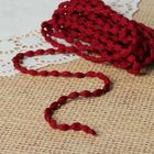 Шнур для плетения декоративный, d=5мм, 5±1м, цвет №116 бордовый