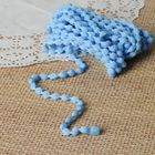 Шнур для плетения декоративный, d=5мм, 5±1м, цвет №117 голубой