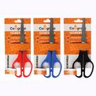 Scissors 17 cm plastic handles, Euro slot MIX