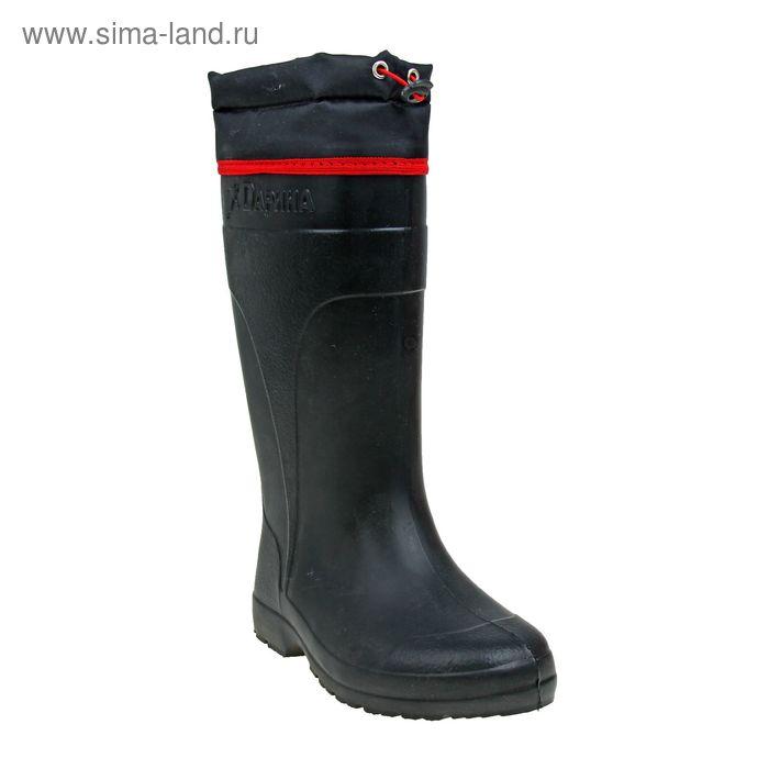 Сапоги женские ЭВА без утеплителя, высота 40 см, цвет чёрный, размер 37/38 (арт. Д503-Н)