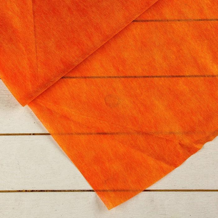Материал укрывной, 5 × 3 м, плотность 40, 2-слойный, с УФ-стабилизатором, жёлто-красный, «Агротекс»