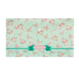 Папка-конверт на кнопке 255*130мм Travel, Compliment 180мкм, пластик Ош