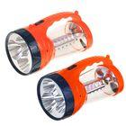Фонарь аккумуляторный «Красная цена» 324 «Светлячок», 3 LED 1 Вт + кемпинг 24 SMD