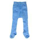 Колготки детские ажурные арт.4В437, цвет голубой, рост 62-68 см (3-6 мес)