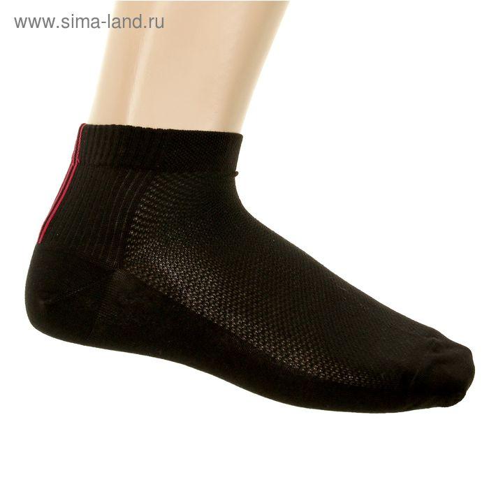Носки мужские, размер 23-25 (разм.обуви 37-40), цвет черный 203