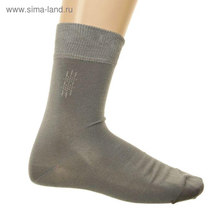 Носки мужские арт.4В258, цвет серый, р-р 25-27 (разм.обуви 40-42)
