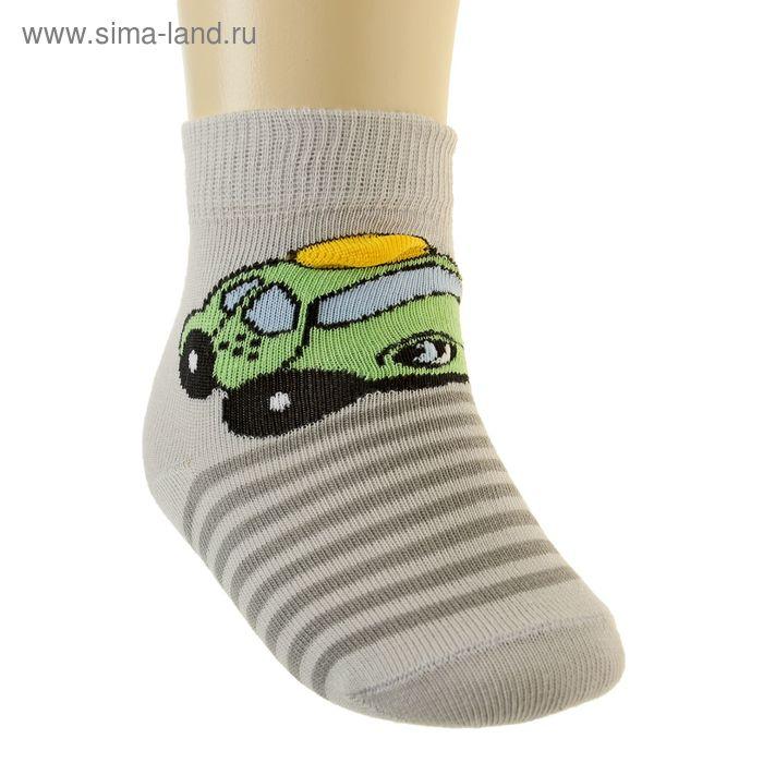 Носки детские арт.5В400, цвет светло-серый, р-р 12-14 (разм.обуви 20-22)