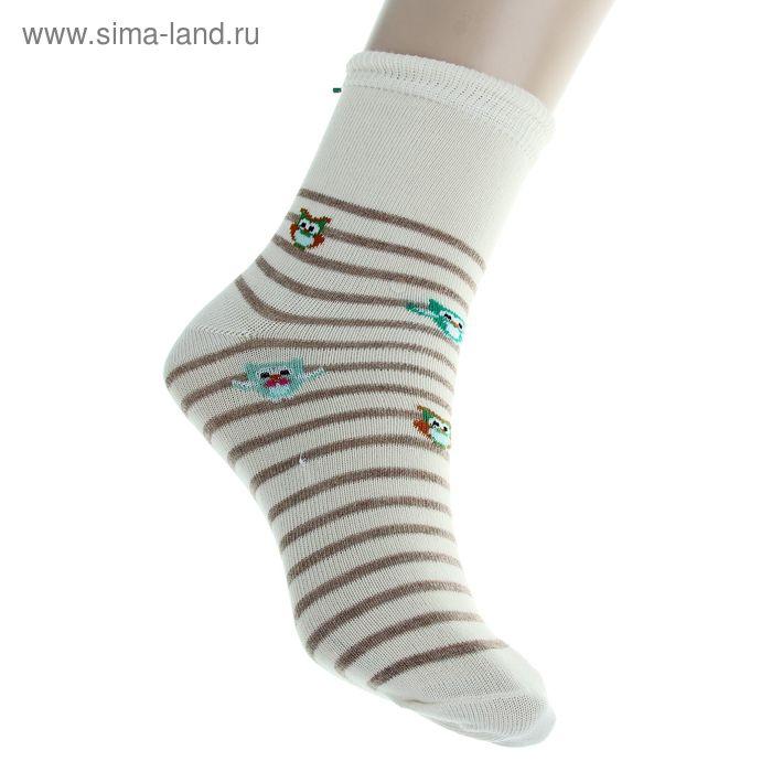 Носки детские арт.4В456, цвет молочный, р-р 18-20 (разм.обуви 29-31)