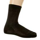 Носки мужские, цвет чёрный, размер 23-25 (разм.обуви 37-40)