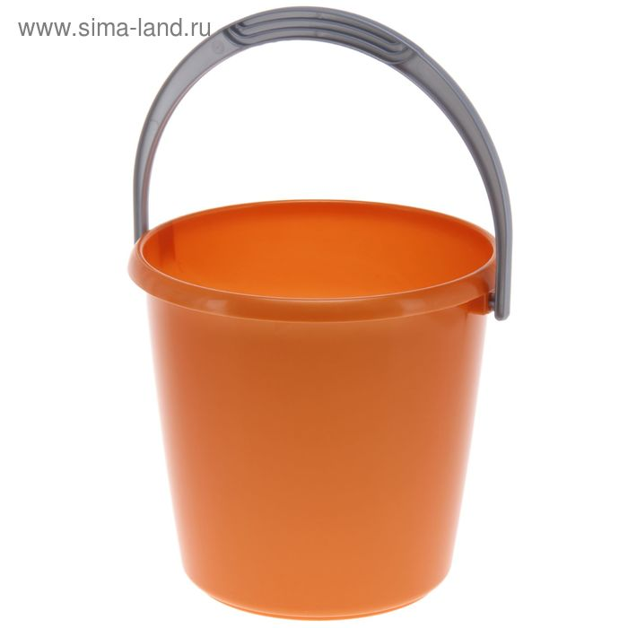 "Ведро 7 л ""Соло"", цвет оранжевый перламутр"