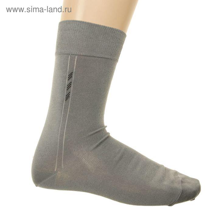 Носки мужские арт.5В260, цвет серый, р-р 23-25 (разм.обуви 37-40)