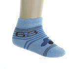Носки детские арт.4В456, цвет голубой, р-р 12-14 (разм.обуви 20-22)