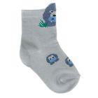 Носки детские, цвет светло-серый, размер 10-12 (разм.обуви 16-18)
