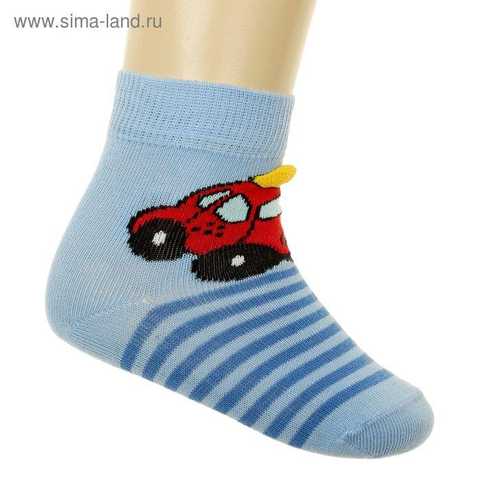 Носки детские арт.5В400, цвет голубой, р-р 12-14 (разм.обуви 20-22)