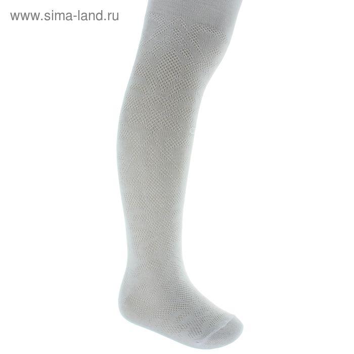 Колготки детские арт.4В437, цвет белый, рост 86-92 см (1,5-2 года)