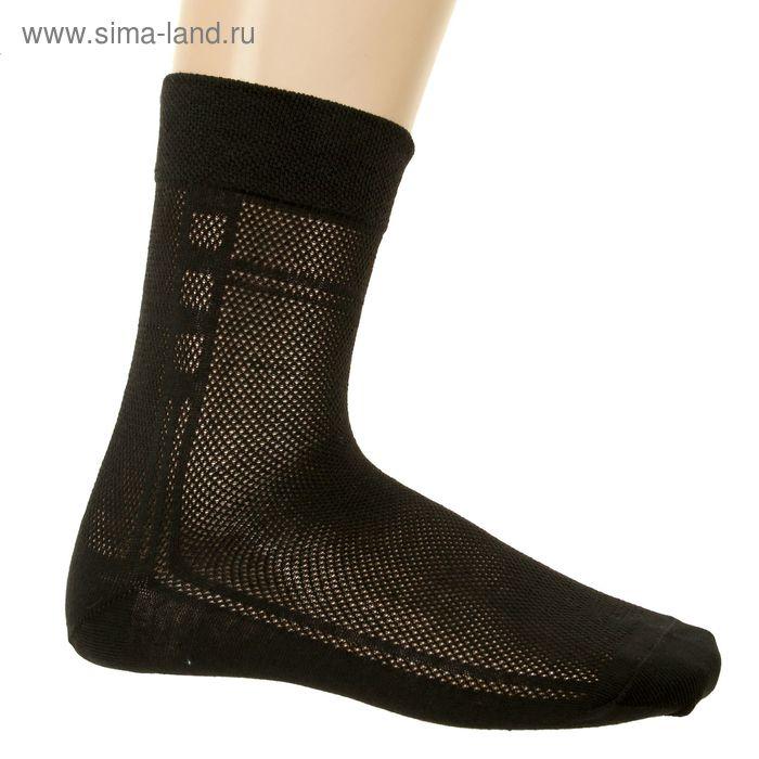 Носки мужские арт.3В224, цвет черный, р-р 27 (разм.обуви 41-42)