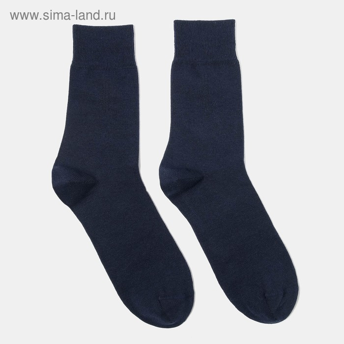 Носки мужские арт.4В258, цвет темно-синий, р-р 25-27 (разм.обуви 40-42)